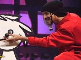 اجرای شعبده بازی نمایشی توسط امیرمحمد باقری