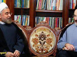 اعتراف محمد خاتمی به جبران گندهای دولت توسط حزب اللهی ها
