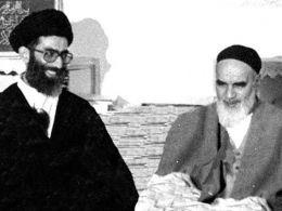 امام خمینی (ره): آقای خامنه ای تا آخر حاضر خواهد بود!