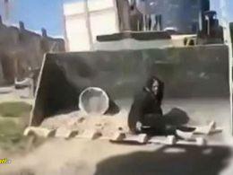 ماجرای دردناک تخریب خانه پیرزن فقیر کرمانشاهی