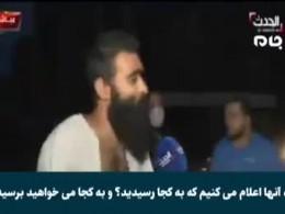 پاسخ دندان شکن جوان لبنانی در منطقه انفجار بیروت به شبکه الحدث سعودی