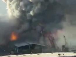 لحظه انفجار بیروت از دوربین یکی از کشته شدگان