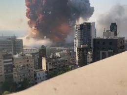 ویدئوی جدید و با کیفیت بالا، از لحظه انفجار بیروت