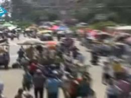 تنش بین موافقان و مخالفان مرسي