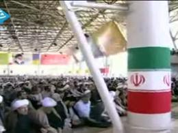 سخنرانی احمدی نژاد در نماز جمعه