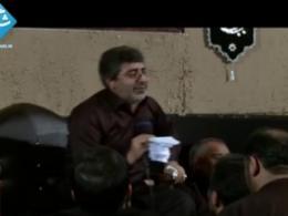حاج محمدرضا طاهری - خاک عالم که بر سرم آمد - شب دوم محرم - 92