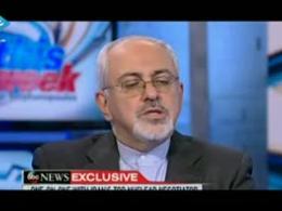 مصاحبه تلویزیونی دکتر ظریف در تلویزیون abc NEW آمریکا
