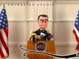 تیزر انیمیشن التماسهای رئیسجمهور آمریکا