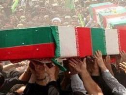 سخنان فرزند شهید در مراسم تشییع جنازه پدرش
