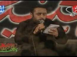 حاج سید صادق قدرتی-توی خیمه ای رباب-شب هفتم محرم-92