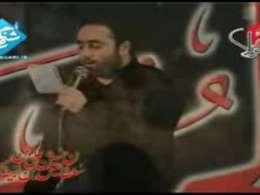 حاج سید صادق قدرتی-گشونده ام با زانوهام خودم رو بالای سرت-شب هشتم محرم-92