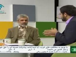 غصه احمدی روشن از تعطیلی نظنز و فردو