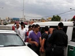 دستگیری اعضای باند کیفقاپ در تهران