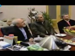 محمدجواد ظریف در پشت صحنه سریال مدیری