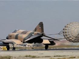 تمرین هوایی جنگندههای ارتش در تهران
