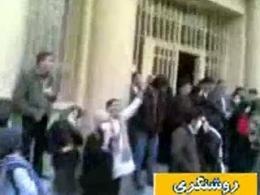 جمعیت انبوه جنبش سبز در دانشگاه تهران!