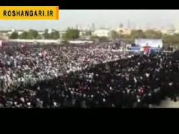 تجمع هزاران نفری انقلابیون بحرینی