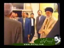 دیدار رهبر از خانواده شهید (01/07/89)