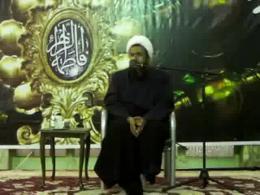 روضه ی حضرت زهرا توسط حجت الاسلام والمسلمین استاد منظوری