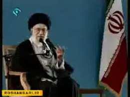 دیدار رهبر انقلاب اسلامی با دانش آموزان-3