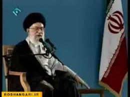دیدار رهبر انقلاب اسلامی با دانش آموزان-5