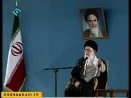 دیدار رهبر انقلاب اسلامی با دانش آموزان-6