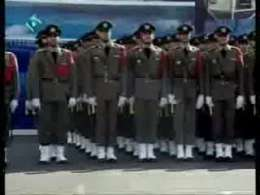 رژه یگان های ارتش در مراسم دانش آموختگی-1