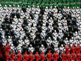 رژه یگان های ارتش در مراسم دانش آموختگی-2