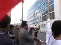 تظاهرات مسلمانان برلین در حمایت از مردم بحرین