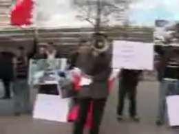 تظاهرات مسلمانان آلمان علیه جنایات آل سعود