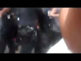 برخورد وحشیانه پلیس نیویورک با معترضان قیام