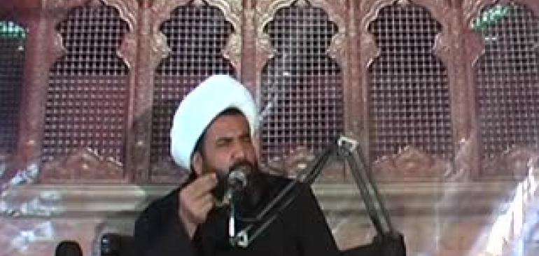 سخنرانی استاد منظوری امام زاده پیرامون مرگ و سختی های آن