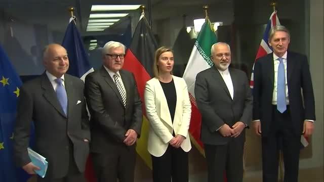 در حاشیه مذاکرات 1+5 در لوزان سوئیس