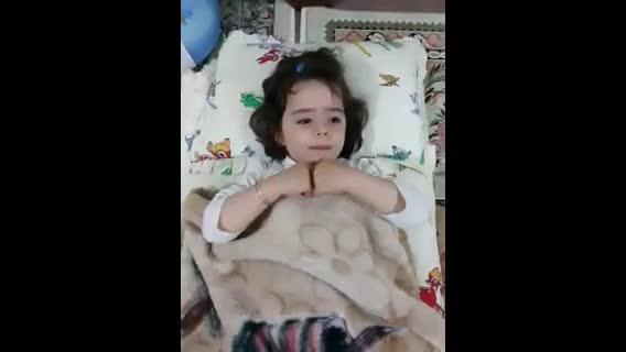 دختر بچه فوق العاده باهوش