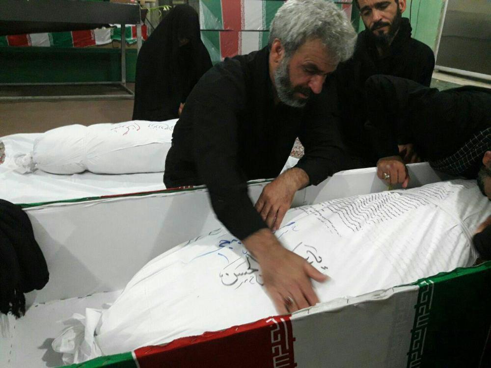 حرفهای تکاندهنده پدر شهید حججی: از پیکر فرزندم فقط یک پا و قسمتی از بدنش را لمس کردم....