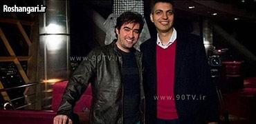 گفتگو جذاب با شهاب حسینی در نود(1)
