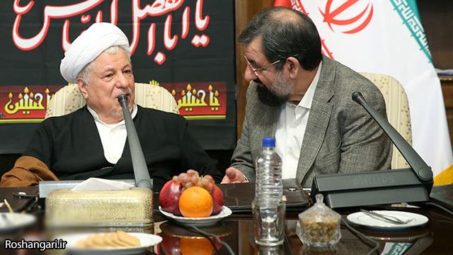 محسن رضایی: آقای هاشمی امروز با همه شوخی می کرد/ ایشان را کمتر اینگونه سر حال دیده بودیم