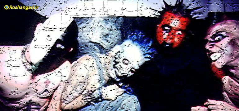 مراسم عجیب شیطانی باحضور سران اروپا در عصر ترانس مدرن؟!