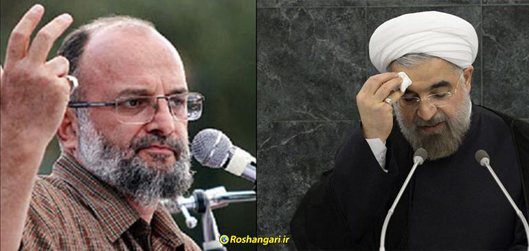 افشاگری و سخنان سردار سعید قاسمی در مورد روحانی