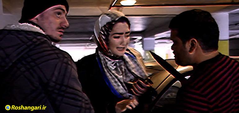 زورگیری از زن جوان توسط سارقین جلو چشم فرزندش