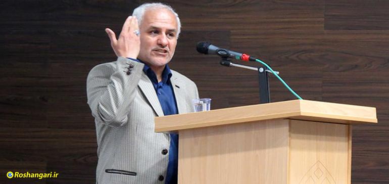 حسن عباسی : هر مدیری در جمهوری اسلامی از مادر زایده شده روبه رو شما بایستد برخورد ما را خواهد دید!!!
