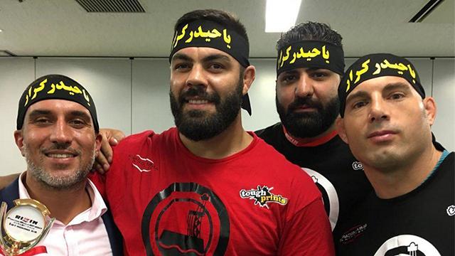 از کشتی تا رینگ/ تمرینات سخت امیر علیاکبری در MMA