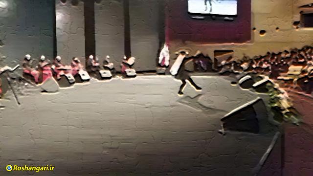رقص دختران در برج میلاد در حضور آقایان !!!