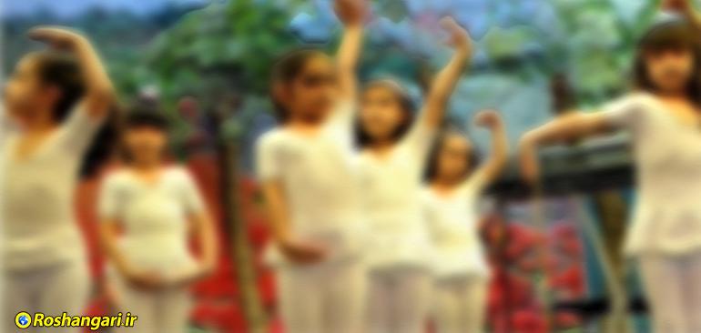 رقصِ دستهجمعی و مختلط دانش آموزان ساوه!