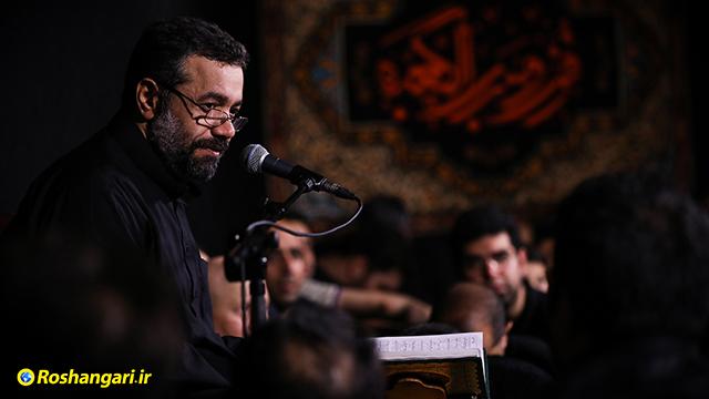 حاج محمود کریمی |  از گنه دم به دمم آتش طوفنده شدم هم شدم از توبه خجل