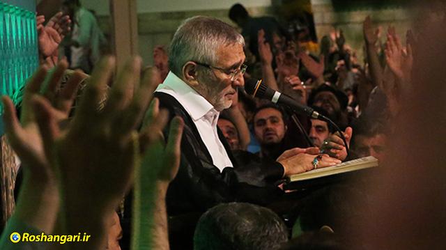 صوت | مراسم شب بیست و هفتم ماه مبارک رمضان با نوای حاج منصور ارضی