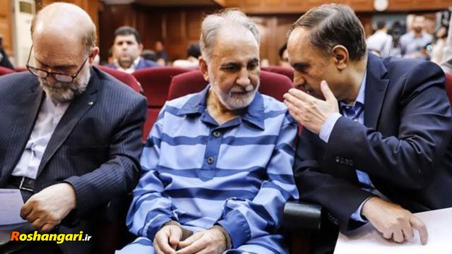 محمد علی نجفی روی صندلی اتهام