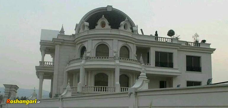 ساخت ویلا در لواسان با طراحی کاخ سفید!!