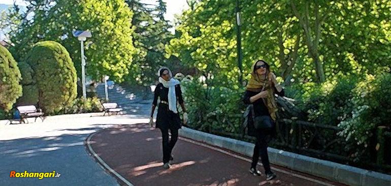 كشف حجاب در جاده سلامتی!