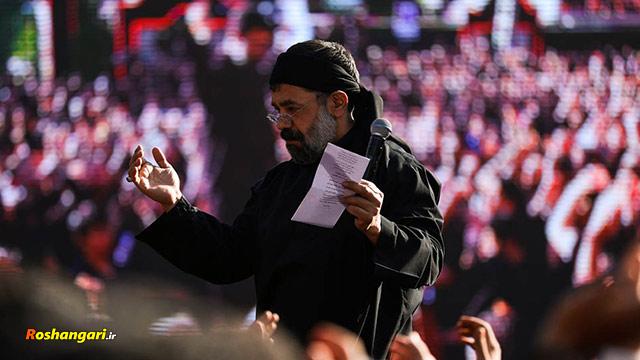 حاج محمود کریمی | شبای پریشونی با چشمای بارونی